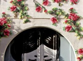 Urban cross stitch by Raquel Rodrigo