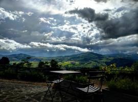 La Fontaccia, between Val di Sieve hills