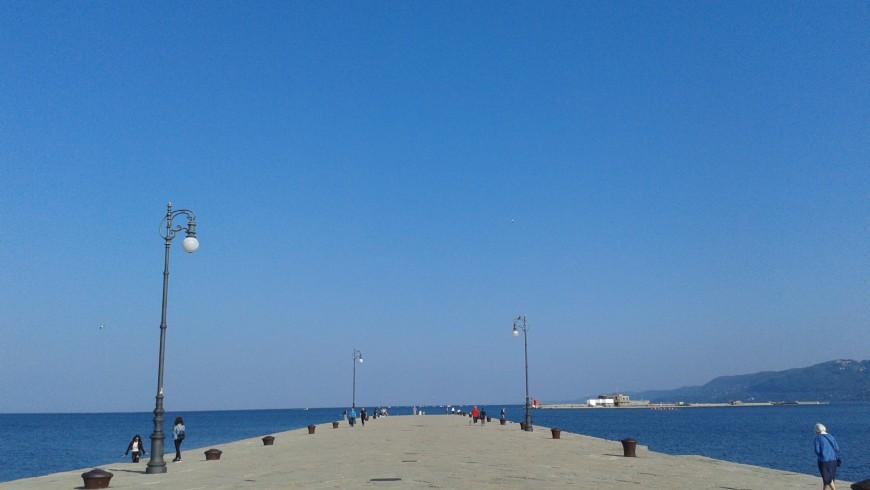Molo Audace, Trieste.