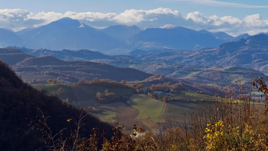 Among the Sibillini Mountains