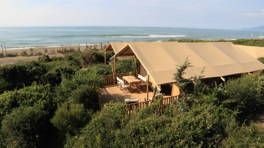 An eco-friendly campsite among the most beautiful in Europe