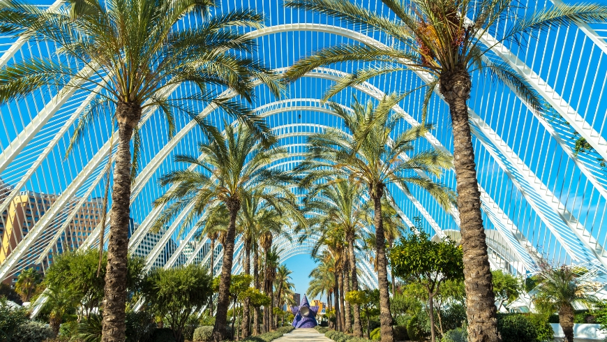City of Arts and Sciences, València, Spain.