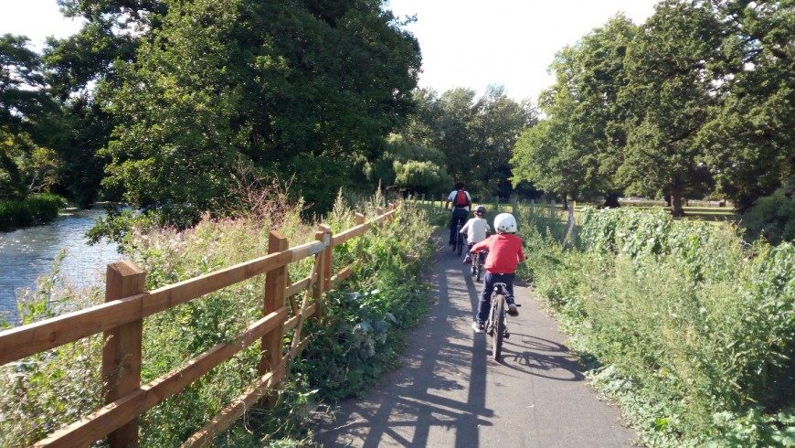 Bike tour from Chippenham to Bowood