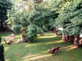The garden of La Martellina