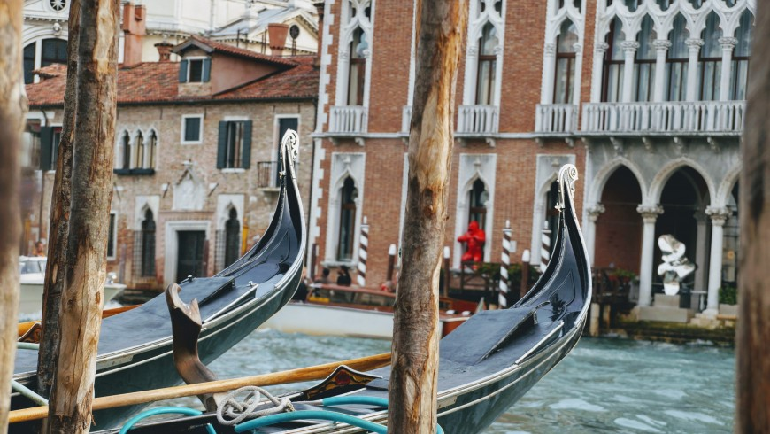 gondola - green venice