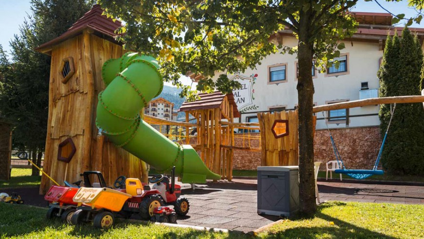 A 4-star hotel for the whole family in Trentino