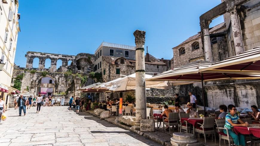 The city of Split, the heart of Dalmatia