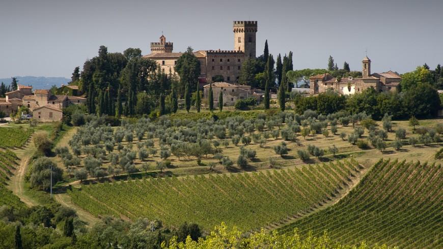 Montespertoli Poppiano Castle