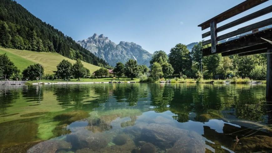 Werfenweng's lake