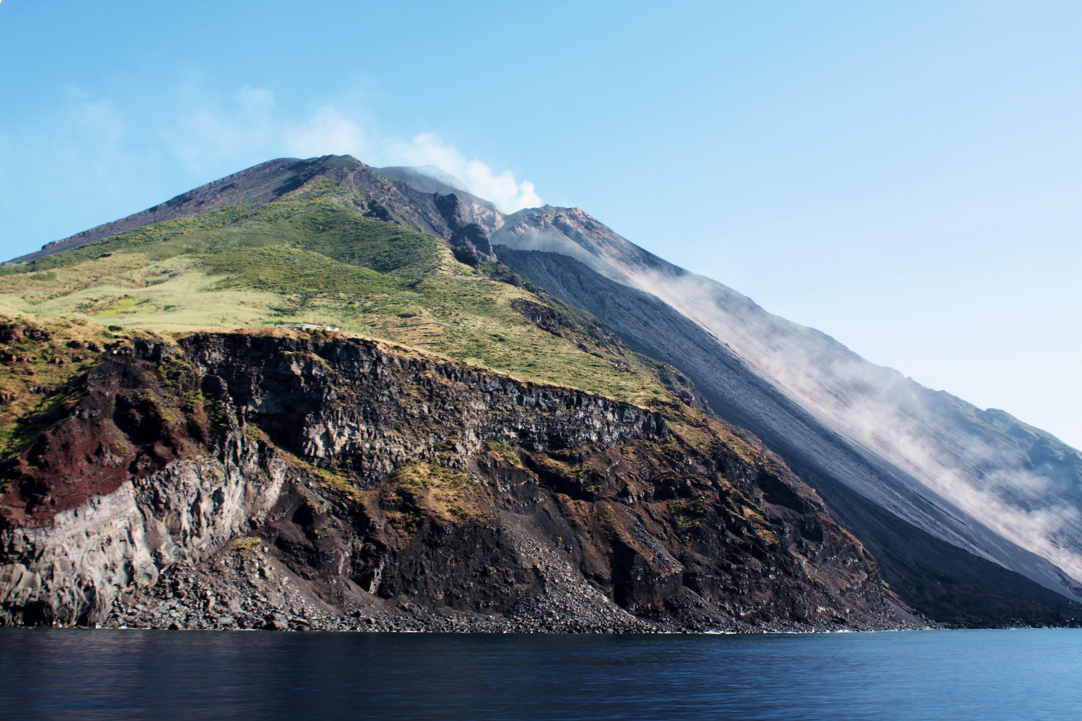 Stromboli, on the Aeolian Island of the same name