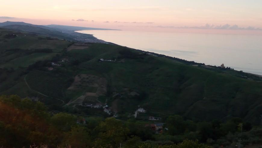 The village of Silvi