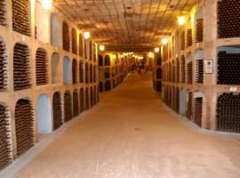 Underground galleries of Milestii Mici chisinau