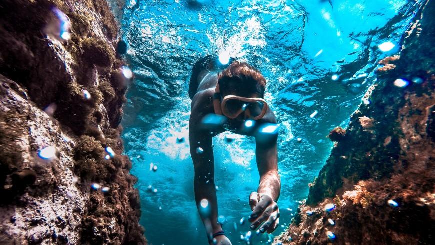 Diving in Riviera delle Palme