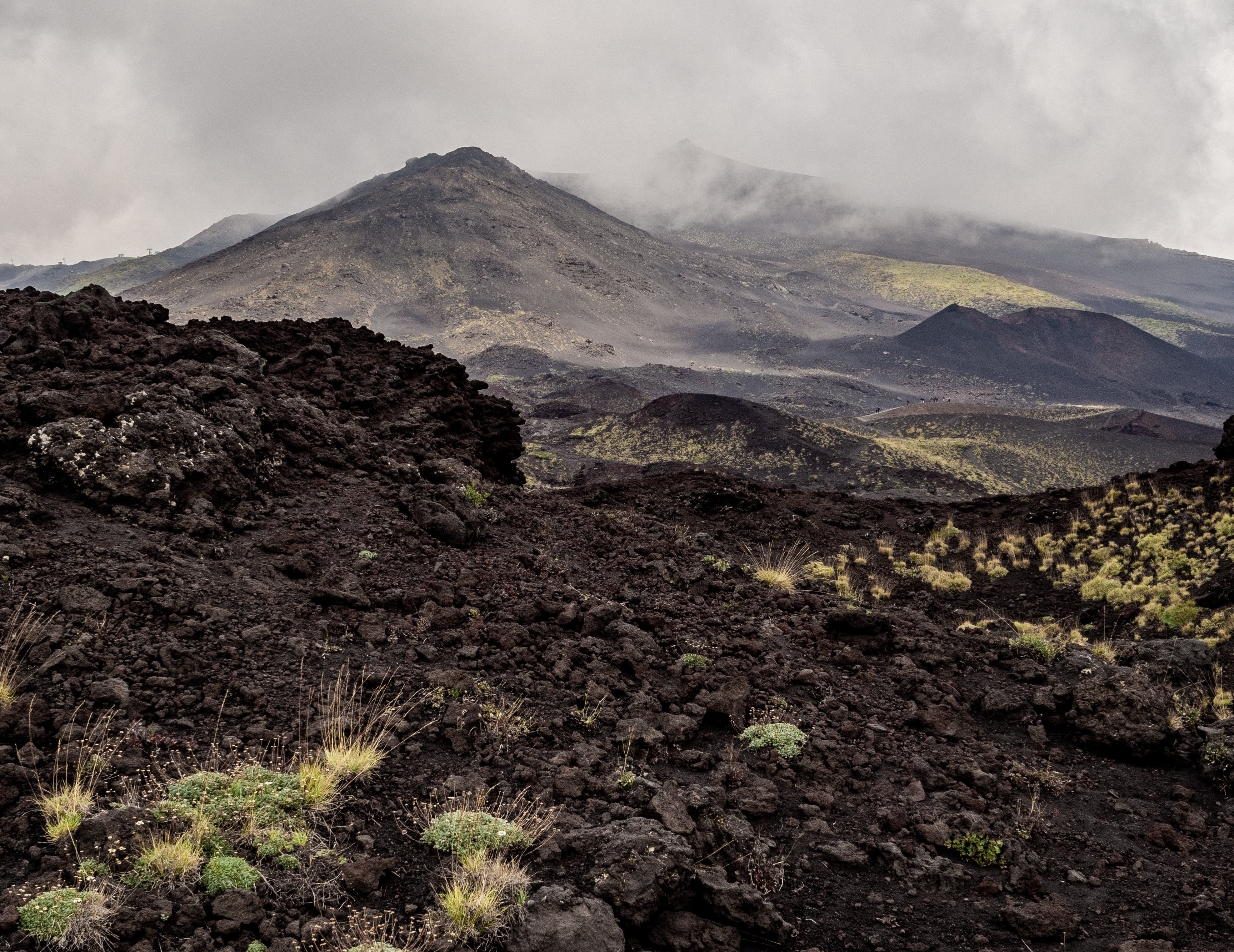 Mount Etna, a volcano in the province of Catania, Italy