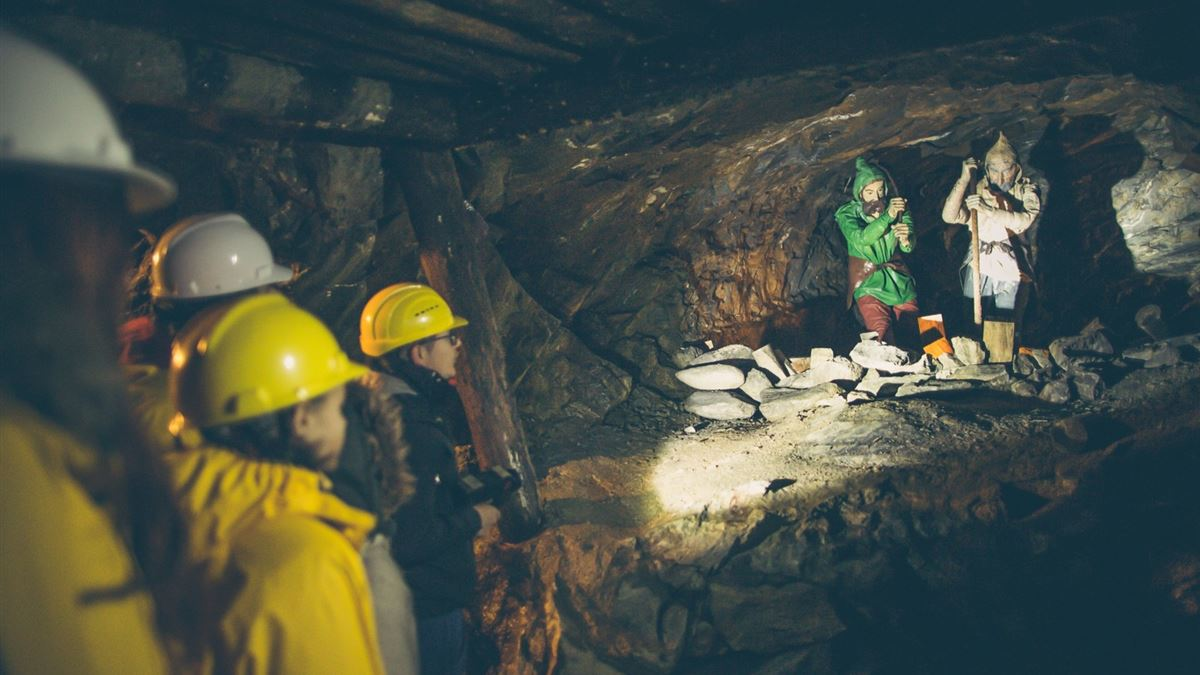 The underground world of mines