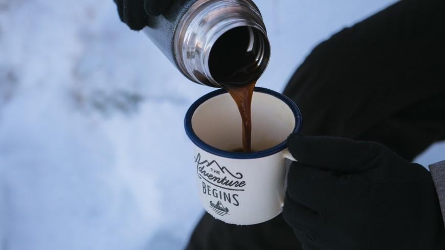 Tent in winter: the adventure begins!