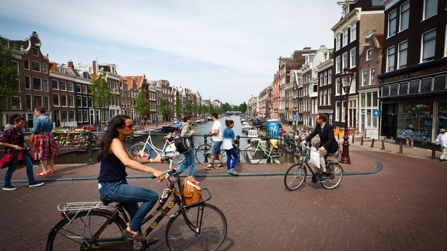 Amsterdam, World's bike capital