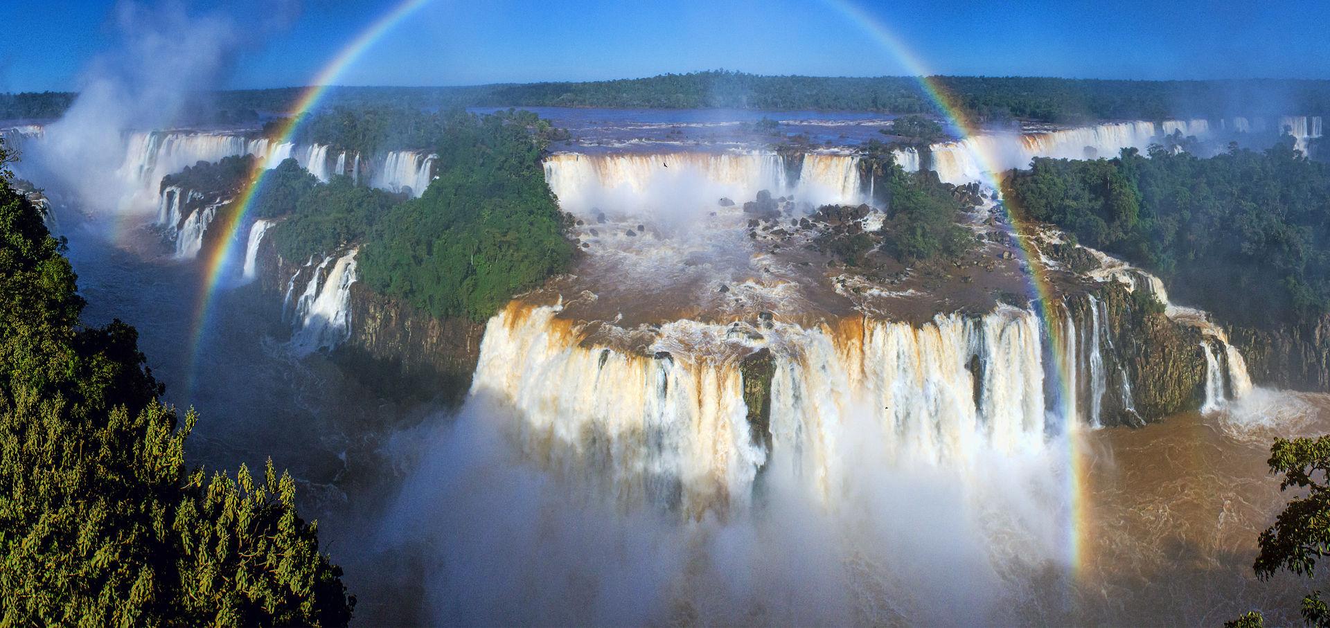 Iguacu Falls Brazil side