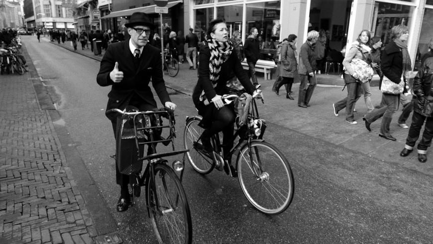 Go green, Riding my bike