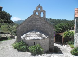 Lastovo church