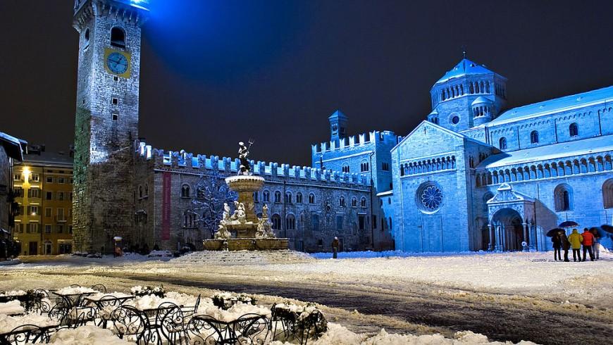 Trento in winter