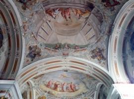 Visiting San Pietro and Duomo della Valle, Val di Funes, Italy