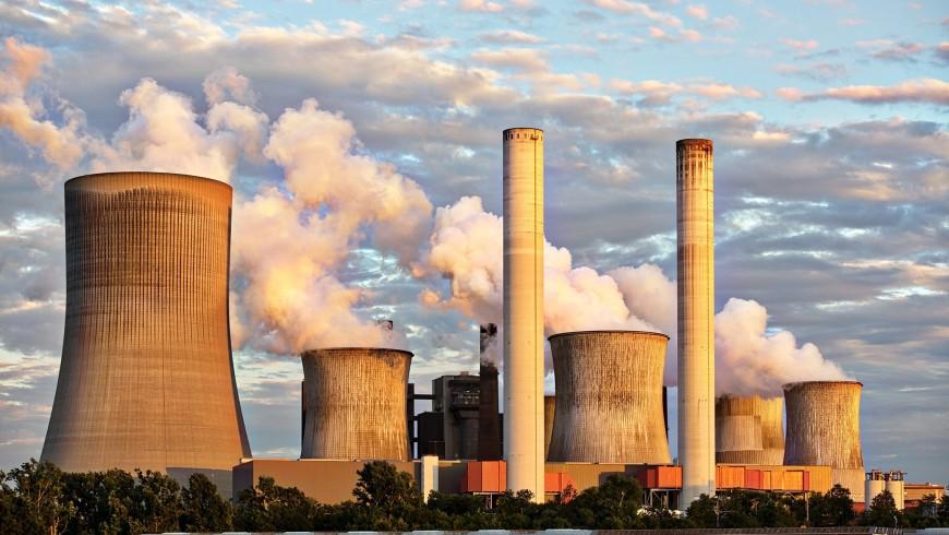 factories, air pollution