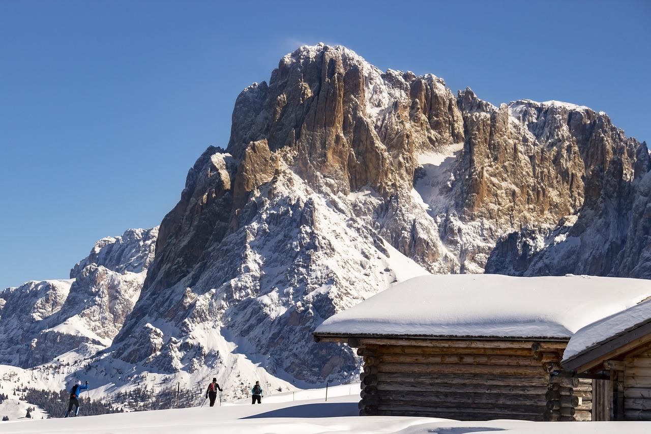 Sledding in Monte San Vigilio (Alto Adige)