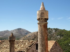 Lastovo's chimney