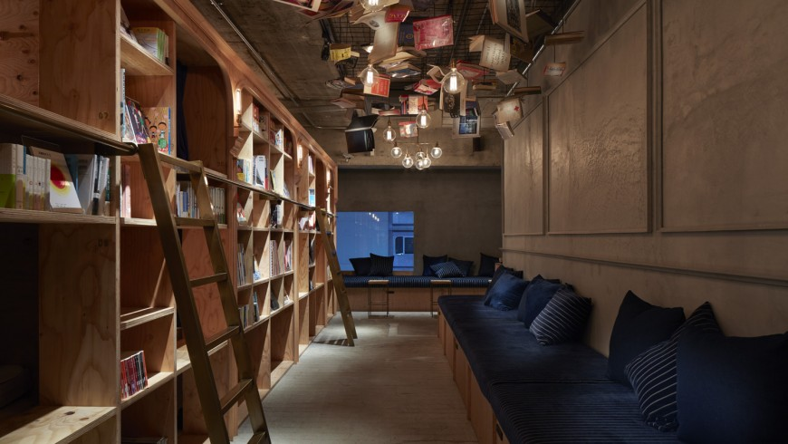 Book and Bed Tokyo: the book lover's dream hotel