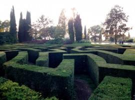 the labyrinth of Sigurtà Park