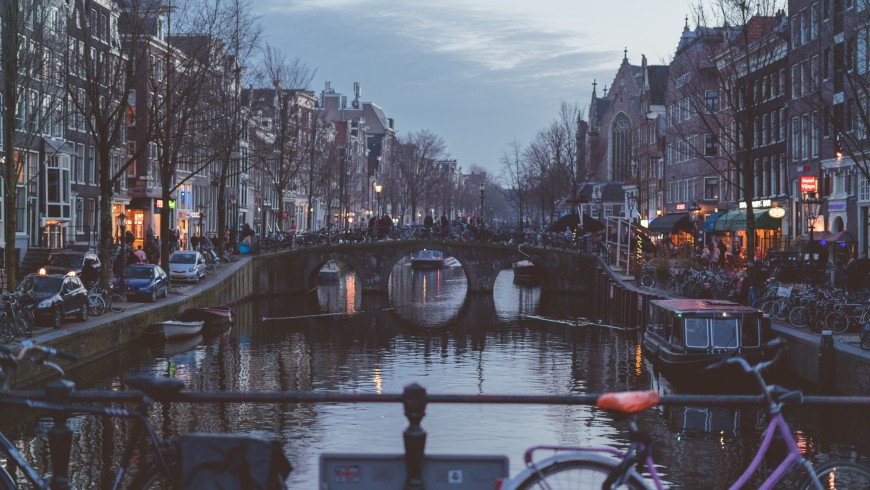 Amsterdam, Go green, Choose Bicycle
