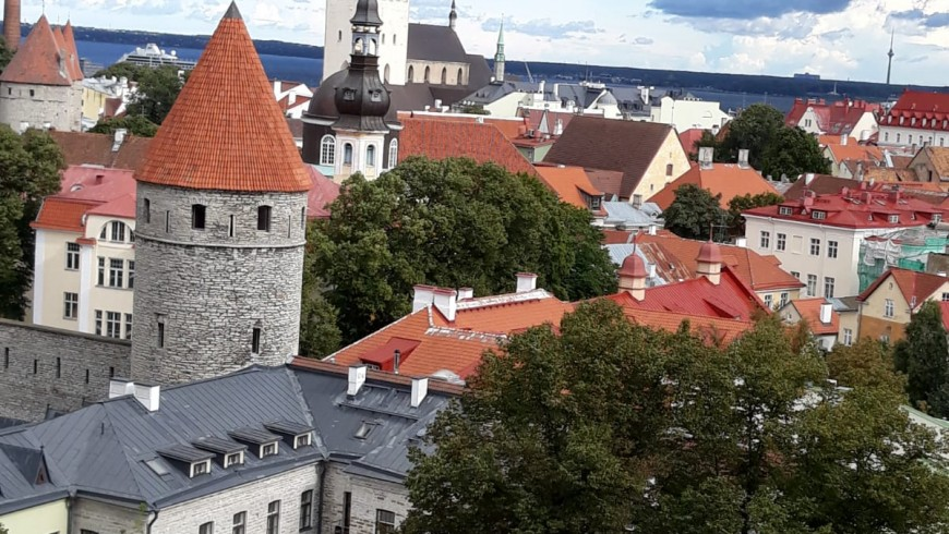 Old Town, Tallinn, Estonia, Middle Age