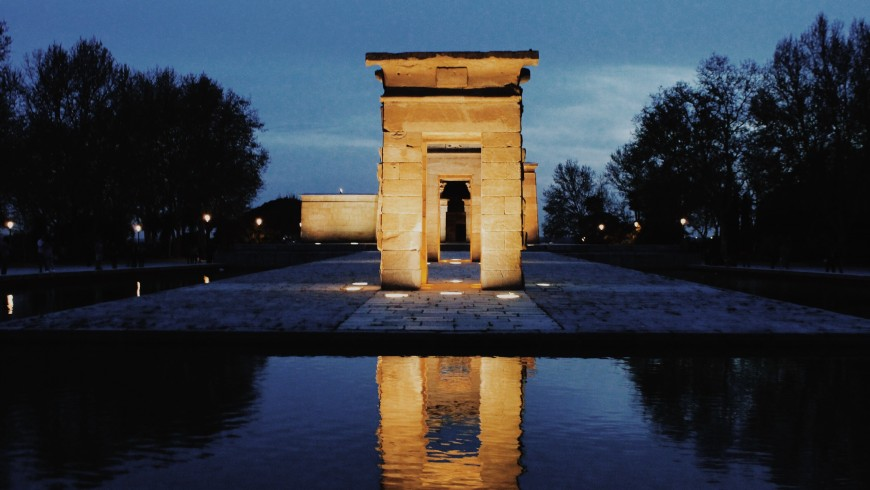 Debod Temple, Madrid