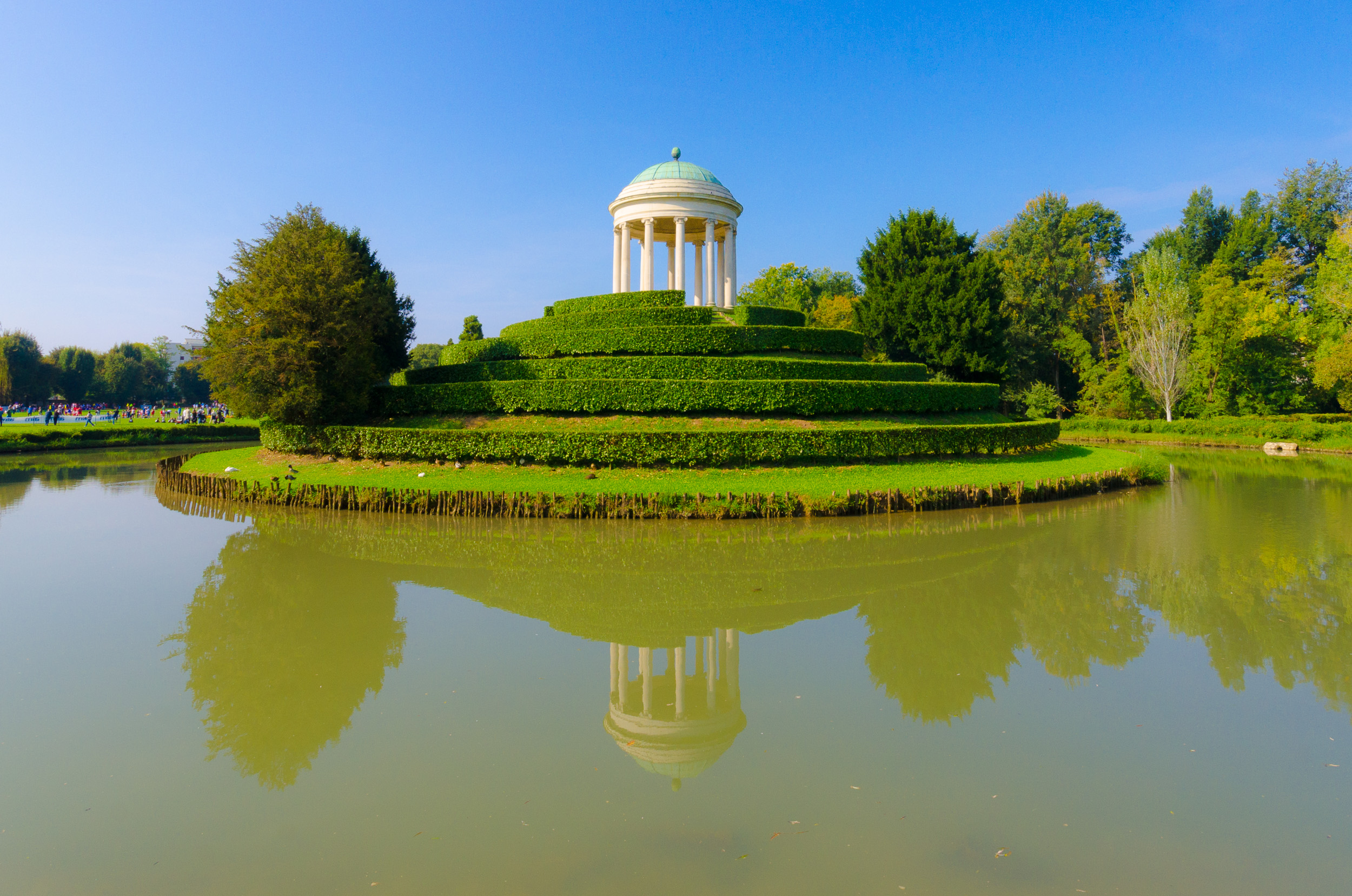 Parco Querini's temple