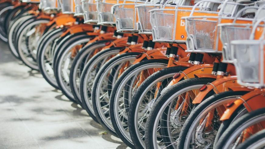 Rent-a-bike service