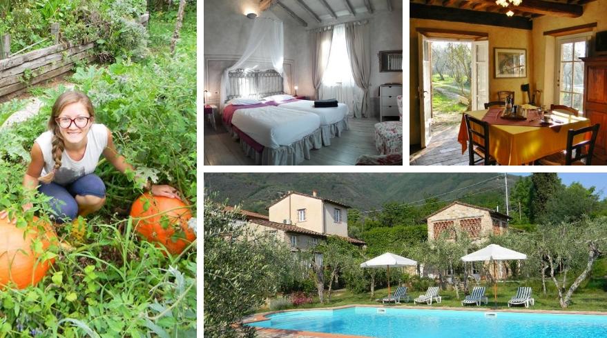 Borgo4Case eco-friendly accommodation in Camaiore, Tuscany