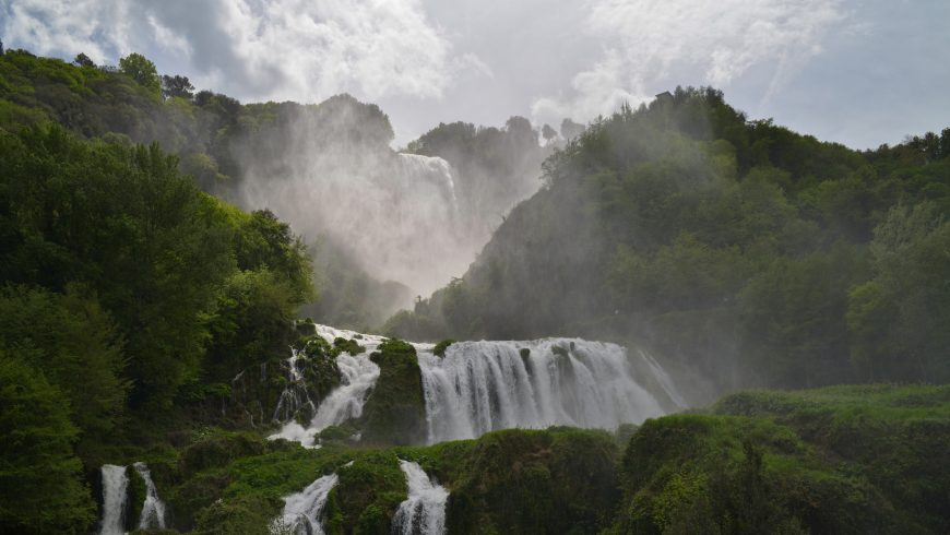 Marmore waterfalls Italy