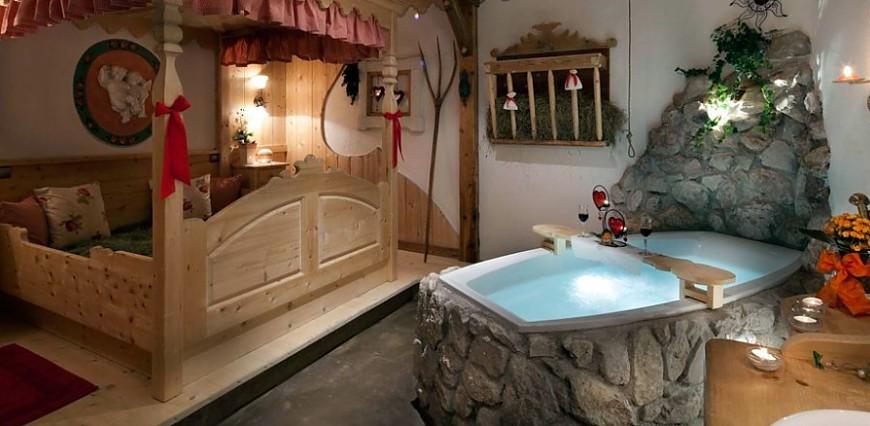 Hay baths among the Dolomites