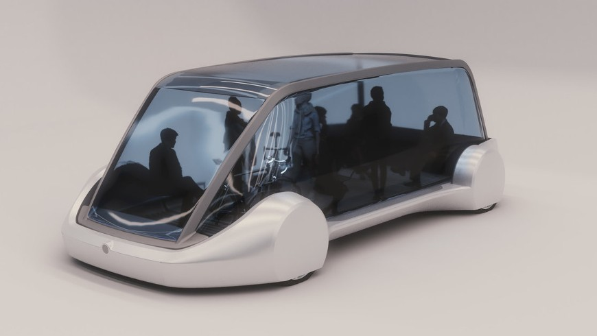 Elon Musk's bus of the future