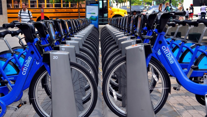 Bike Sharing in New York