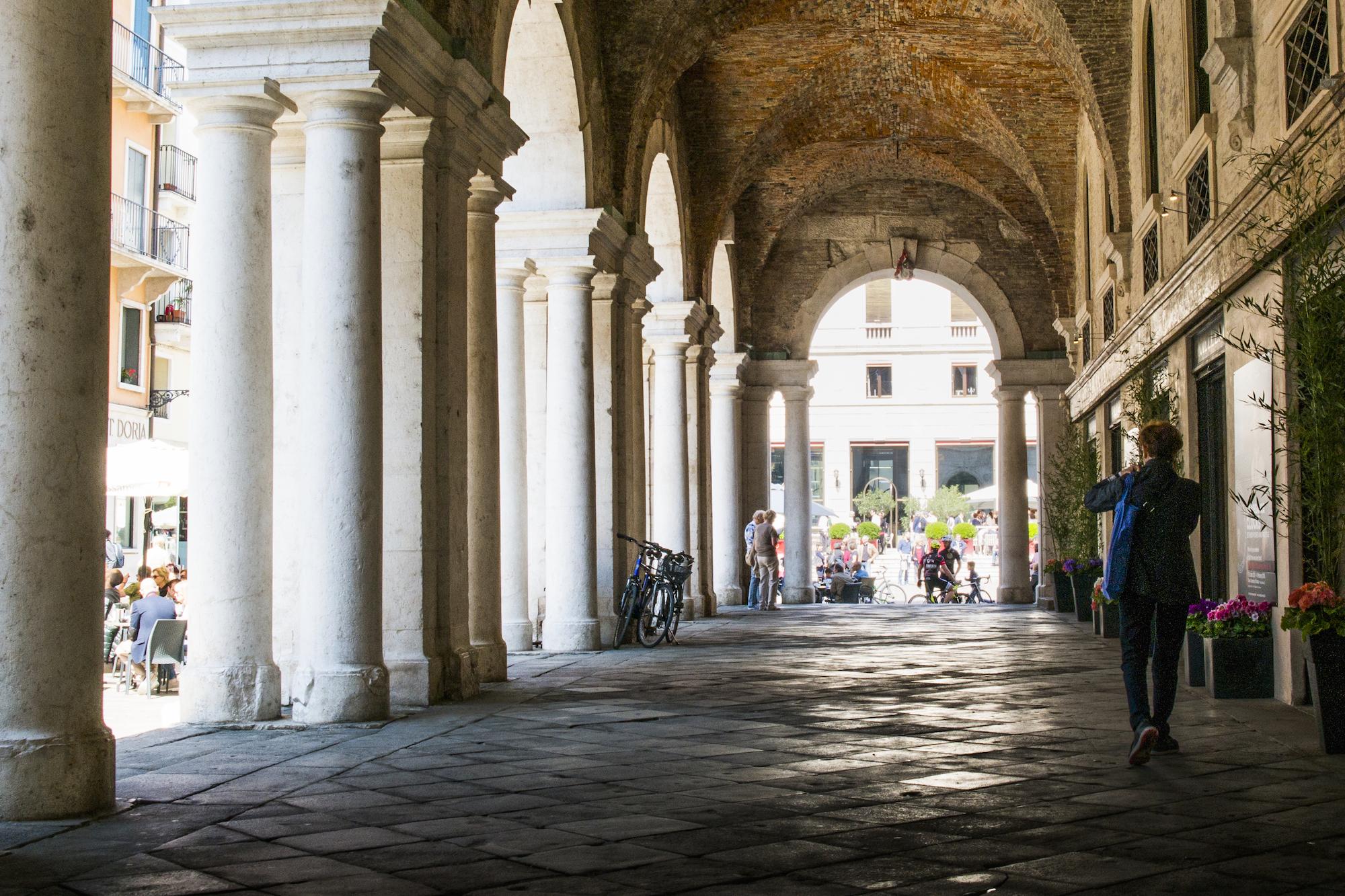 Porticos in Vicenza