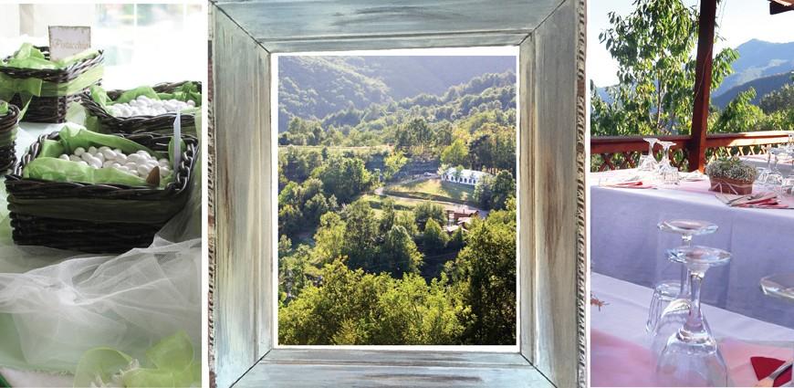 Centro Anidra: eco-wedding in the Ligurian hinterland