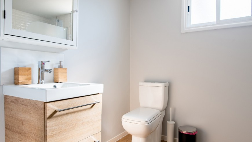 Tiny House Bathrooms with Composting Toilets