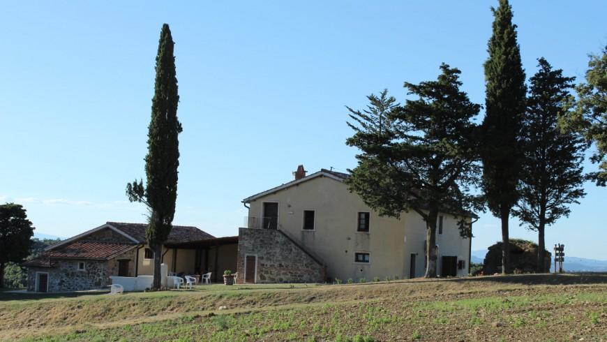 IPoderi: eco-chic farmhouse in Tuscany
