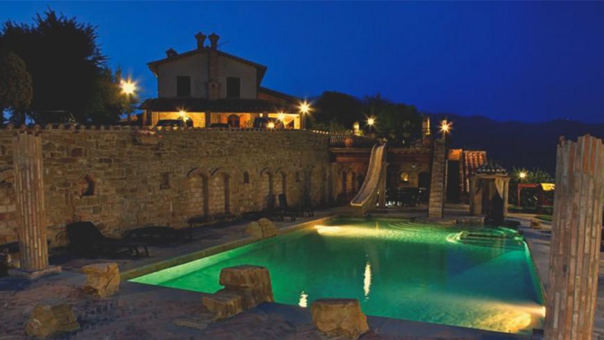 Villa Dama: farmhouse in the hills of Gubbio