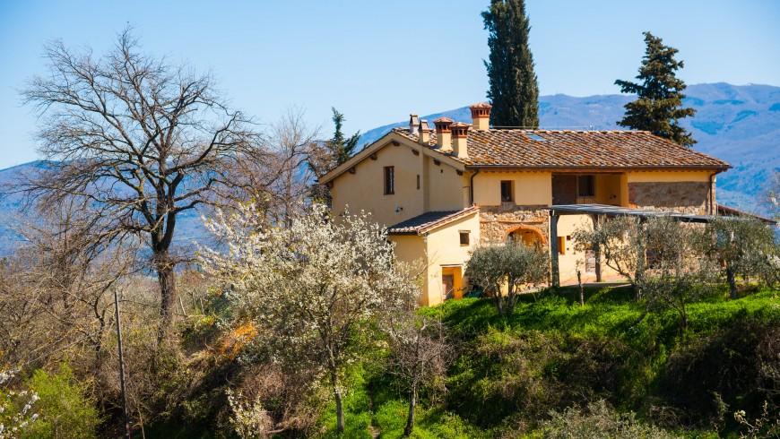 organic farmhouse Il Poderaccio, Tuscany