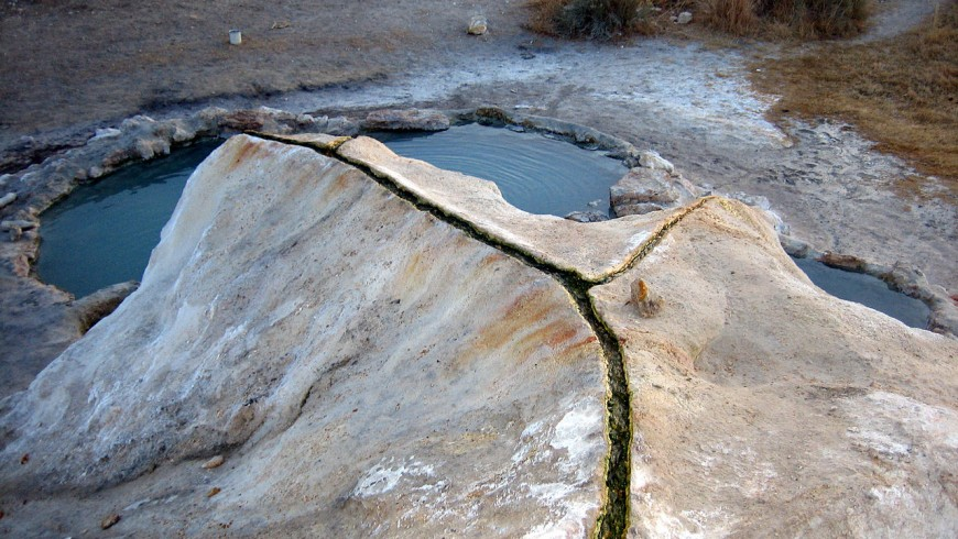 Travertine Hot Springs, California