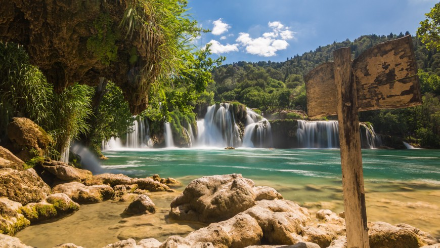 Krka, Waterfalls, Croatia