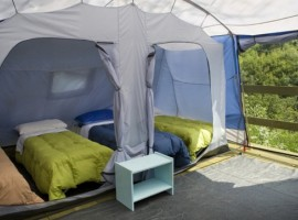 The eco-camping at Centro Anidra, Ecobnb in Liguria